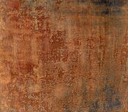 Plate. Rusty iron surface.Metal plate background texture Stock Image