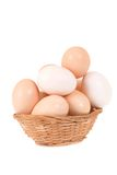 Plate And Eggs Royalty Free Stock Photography