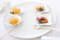 A plate of antipasto Royalty Free Stock Images