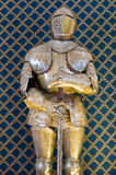 Plate armour. Stock Image