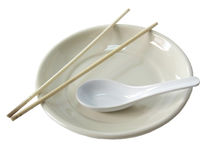 Plate Asian Royalty Free Stock Photo