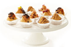 Plate of biscuit cakes Stock Photo