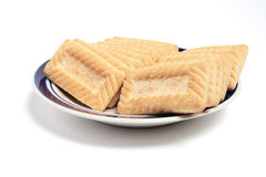 Plate of Biscuits Royalty Free Stock Photo