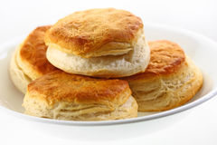 Plate of biscuits Royalty Free Stock Photos