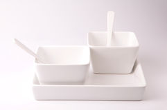 Plate and bowl Royalty Free Stock Photography