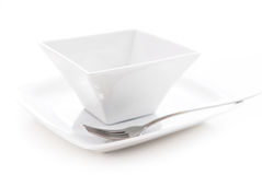 Plate and bowl Royalty Free Stock Image
