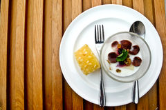 A plate of breakfast Royalty Free Stock Image