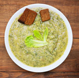 Plate of cabbage soup Royalty Free Stock Photography