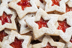 Plate of Christmas cookies Royalty Free Stock Images