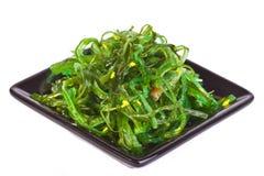 Plate with chuka salad Stock Images