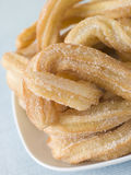 Plate of Churros Stock Photos