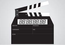 Plate cinema, accomplishment stock image