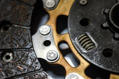Plate clutch car metal repair automotive. Mechanic Stock Images