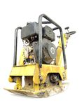 Plate compactor Stock Image