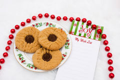 A Plate of Cookies royalty free stock images