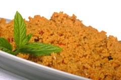 Plate of coucous Stock Photography