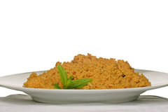 Plate of coucous Royalty Free Stock Photo