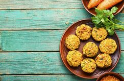 Diet vegetable cutlet