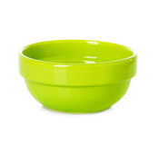 Plate dish green Royalty Free Stock Image