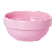 Plate dish pink Stock Images
