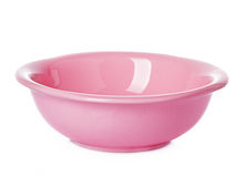 Plate dish pink Royalty Free Stock Image