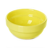 Plate dish yellow Royalty Free Stock Photography