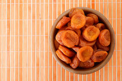 Plate with dried figs Stock Photo