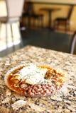 Plate of enchiladas Stock Photography