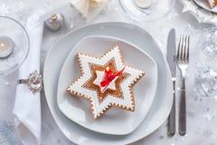Plate för julafton Royaltyfria Foton