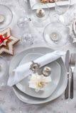 Plate för julafton Fotografering för Bildbyråer