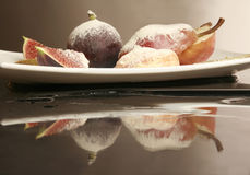 Fig and pears Stock Photography