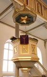 Plate-forme d'église de la parole Images libres de droits