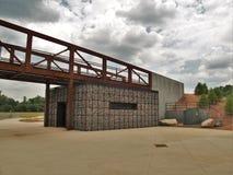Plate-forme d'observation au parc de carrière à Winston-Salem photos stock