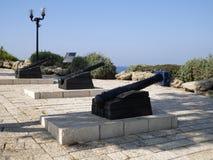 Plate-forme d'observation dans Jaffa Photos libres de droits
