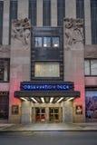 Plate-forme d'observation du centre de Rockefeller Photographie stock libre de droits