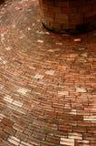 Plate-forme de brique de cercle Photo libre de droits