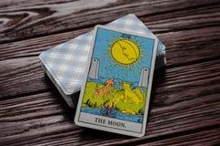 Plate-forme de cavalier-Waite de tarot de cartes Image libre de droits