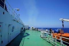 Plate-forme de ferry Photographie stock