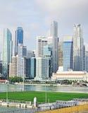 Plate-forme de flottement de Singapour Photographie stock