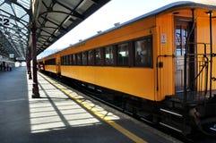 Plate-forme de gare ferroviaire de Dunedin photographie stock libre de droits