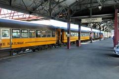 Plate-forme de gare ferroviaire de Dunedin photos stock