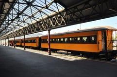 Plate-forme de gare ferroviaire de Dunedin photographie stock