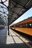 Plate-forme de gare ferroviaire de Dunedin image libre de droits