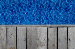 Plate-forme de piscine Photographie stock