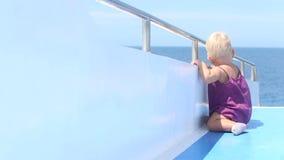Plate-forme de Seat de support d'enfant banque de vidéos