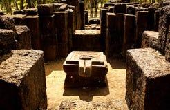 Plate-forme de symbole phallique de Hidu Image stock