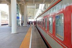 Plate-forme ferroviaire Images libres de droits