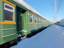 Plate-forme ferroviaire Photo libre de droits