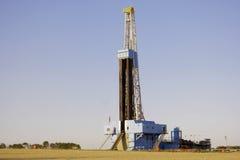 Plate-forme pétrolière dans le pays de ferme Images stock