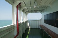 Plate-forme sur le ferry Photos libres de droits